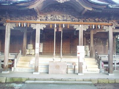 気多本宮の拝殿